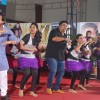 Saif and Ram perform with school children at the promotions of Humshakals