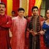 Dharmaraj Mahiyavanshi, Meghna, Shanshank and Rasik in the show Bandini