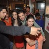 Sidharth clicking a selfie on Ye Hai Mohabbatein sets