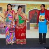 Ami Trivedi and Apara Mehta performing at the launch of Sab TV's Tu Mera Agal Bagal Mein Hain