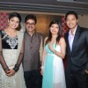 Shreyas Talpade with wife and Pooja at Poshter Boyz Launch at Levo