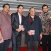 Shreyas Talpade with Shankar Mahadevan and Leslie Lewis at Poshter Boyz Launch at Levo