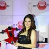Zareen Khan poses with a product of Amethyst in India