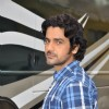 Arjan Bajwa at the Promotions of Bobby Jasoos