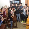 Alia Bhatt and Varun Dhawan at HR College