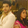 Arjun and Arohi in the show Kitani Mohabbat Hai