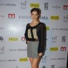 Kalki Koechlin poses for the media at Rahul Mishra's celebration of 6 years in fashion with Grazia