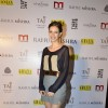 Kalki Koechlin poses for the media at Rahul Mishra's celebration