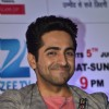 Ayushmann smiles for the Press Conference of India's Best Cinestars Ki Khoj