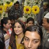 Vidya Balan captured at Mahim Darga paying her tribute