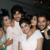 The cast of Veera at the party