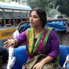 Vidya Balan takes a cycle rickshaw ride to promote Bobby Jasoos