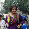 Vidya Balan enjoys a cycle rickshaw ride in Kolkata