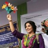 Vidya Balan shows a magic trick in Kolkatta