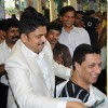 Madhur Bhandarkar spotted at the inauguration of Shiva's Hair Designers