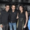 Gautam Rode with Vivian Dsena and Vahbbiz at the Birthday Party
