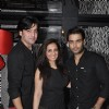 Shashank Vyas and Munisha Khatwani wih Vivian Dsena at his Birthday Party