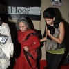 Jaya Bachchan and Shweta Nanda at the Special Premier of Lekar Hum Deewana Dil