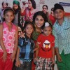 Vidya Balan with her little fans at the promotions of Bobby Jasoos at R City Mall