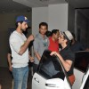 Hrithik Roshan and Kunal Kapoor where Snapped at a screening at Lightbox