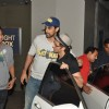 Hrithik Roshan hugs Kunal Kapoor at a screening at Lightbox