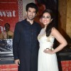 Parineeti Chopra and Aditya Roy Kapoor at the promotion of Daawat-e-Ishq