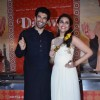 Parineeti Chopra and Aditya Roy Kapoor holds kebab at the  promotion of  Daawat-e-Ishq