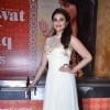 Parineeti Chopra poses to media  at the promotion of  Daawat-e-Ishq