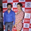Mallaika and Rajev Paul at the lunch of special Savvy issue