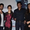 The cast of Haider at the Trailer Launch of Haider
