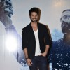 Shahid Kapoor poses to media at the Trailer Launch of Haider