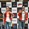 Varun and Alia speaks to audience at the Promotions of Humpty Sharma Ki Dulhaniya