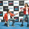 Varun and Alia in their dramatic pose at Korum Mall,Thane
