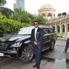 Raj Kundra poses to media at the Launch of Satyug Gold