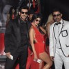 Zayed Khan, Tena Desae and Rannvijay Singh poses for the camera