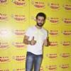 Jay Bhanushali shows thumbs up to media at the Promotion of Hate Story 2, at Radio Mirchi