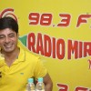 Sushant Singh on air at Radio Mirchi