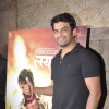 Sharad Kelkar poses for the media at the Special Screening of Lai Bhari