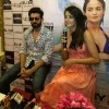 Surveen Chawla speaks to media at the Promotions of Hate Story 2 in Jaipur