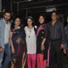 Riteish and Genelia with their family at the Screening of Lai Bhari