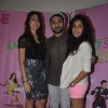 Vir Das along with Vega Tamotia and Anindita Naiyar at the Promotions of Amit Sahni Ki List