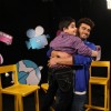 Arjun Kapoor lifts Sadhil Kapoor on the sets of Captain Tiao
