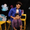 Arjun and Sadhil seen having fun on the sets of Captain Tiao
