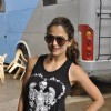 Amrita Arora poses for the camera at Mehboob Studio