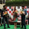 Cast of Hate story 2 being felicitated