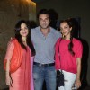Sohail Khan with wife Seema at the Screening of Humpty Sharma Ki Dulhaniya