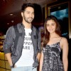 Varun and Alia at the Special Screening of Humpty Sharma Ki Dulhaniya