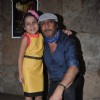 Jackie Shroff and child actor Palak Dey at the Screening of the Short Film Makhmal