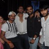 Sreesanth poses along with Vivian Dsena and other guests at the Live Concert