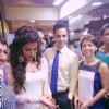 Chitrangada Singh and Karishma Kapoor at Malkish Jewellers